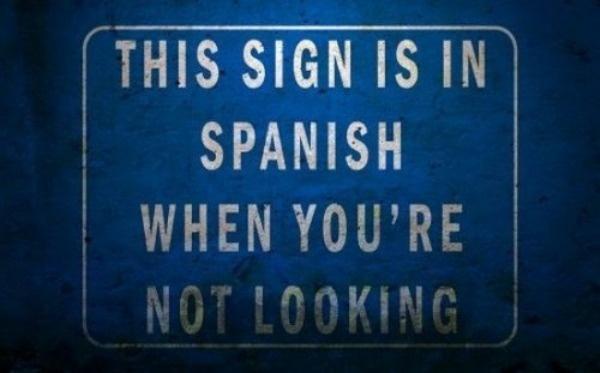 Spanish-sign